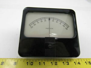 Simpson Analog Panel Meters 125 0 125 Inches