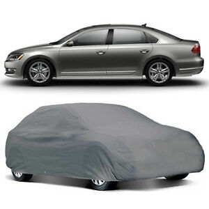 U A A Inc Deluxe Extra Large Universal Gray Weather Resistant Car Cover