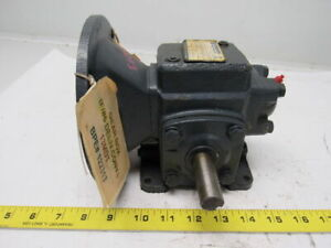 Winsmith 13mdts2100wb7 Worm Gear Speed Reducer 10 1 Ratio 199 Output Torque