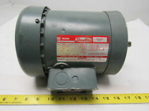 Dayton 3n237c 1 Hp 3ph 208 220 440v 3450rpm Electric Motor