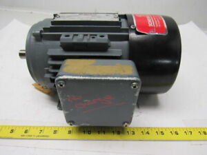 Brook Hansen 1927303 02 1 2hp 3ph 230 460v 1100rpm Electric Motor