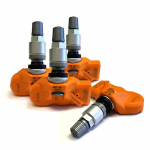 Set Of 4 Tire Pressure Sensors Tpms For 2010 2016 Ford Fusion