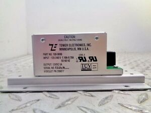 Tower Electronics 100 0690 Power Supply 120 240v 1 1 7amp 50 60hz 12vdc 5a