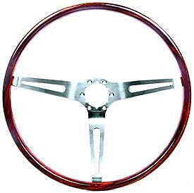 Chevy Chevelle el Camino Nova Steering Wheel Walnut Simulated 1967 68 69 70
