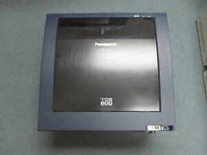 Panasonic Kx tde600 Ip Pbx Cabinet With Covers No Power Processor Or Cards