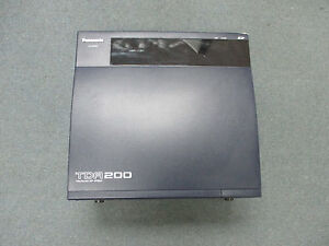Panasonic Kx tda200 Ip Pbx Cabinet W Cover Only No Power Supply Mpr Or Cards