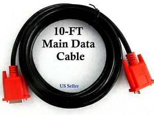 10ft Mt2500 5000 Main Data Cable For Snap On Solus Solus Pro Scanner Obd1 Obd2