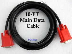 10ft Eax0066l50a Main Data Cable For Snap On Solus Solus Pro Scanner Obd1 Obd2