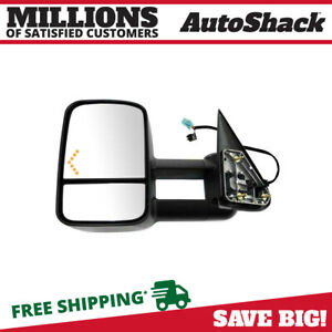 Power Heated Tow Led Signal Driver Side Mirror For 2003 2005 2006 Silverado 1500