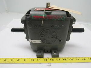 Drive all Dau 942 Drive All Upright Profile Multi speed Gearbox 3 4 Dia Shaft