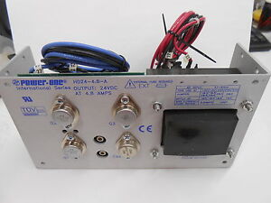 Power one Hd24 4 8 a 24 Vdc 4 8 Amp Power Supply Module