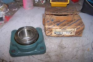 New Dodge 4 Bolt Unisphere Flange Bearing Size M 85 979