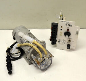 Cole parmer Masterflex 7554 20 Vari speed Drive Peristaltic Pump 7021 26 Head