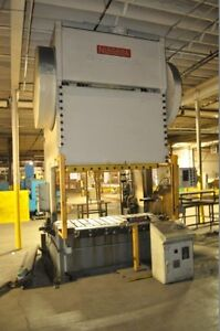 225 Ton Niagara Double Crank Gap Frame Press Stamping Planet Machinery 5163