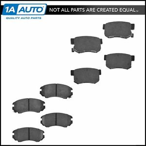 Nakamoto Premium Posi Ceramic Brake Pad Front Rear Kit For Cl Accord Civic