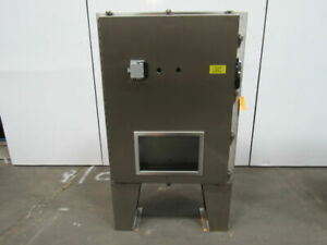 Hoffman A48hs3712sslp Stainless Steel Electrical Enclosure Box 48x37x12 Type 4x