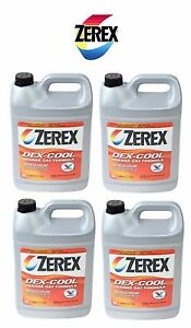 4 Gallon Zerex Engine Coolant Antifreeze Fluid For Jaguar Land Rover Saab Subaru
