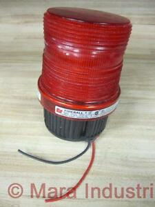 Federal Signal Fb2pst Signal Strobe Light Red Beacon 120v