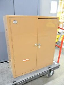 Knaack Steel Wall Cabinet 2 Door 32 X 16 X 36 33