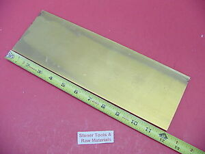 1 4 X 4 C360 Brass Flat Bar 12 Long Solid Mill Stock H02 250 x 4 0 x 12