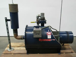Spencer 5015 h no1 15hp Fabricated Centrifugal Blower 208 230 460v Clean