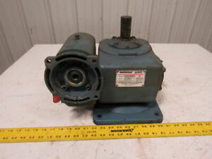 Morse 30gcdv Double Reduction Gearbox Speed Reducer 150 1 Ratio