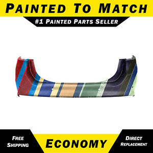 New Painted To Match Rear Bumper Cover For 2013 2018 Ford Fusion W Park Assist
