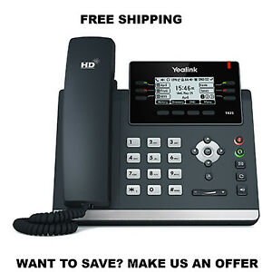 Yealink Yea sip t42s Ip Desk Phone Optima Hd Voice Up To 12 Sip Accounts