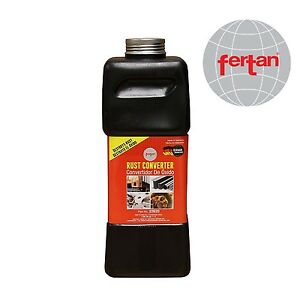 Non Toxic Fertan 22620 Rust Converter 1 Liter Bottle Made In Germany 24h To Work