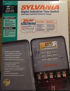 Sylvania Digital Time Switch