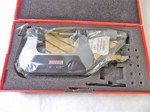 Spi Screw Thread Micrometer 1 2 Range 0 0010 Grad Ratchet Stop 13 515 2