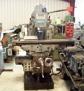 9808 Polamco Horizontal vertical Milling Machine