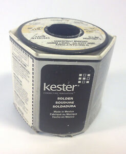 Kester 24 6337 8807 Flux Core Solder Wire 245 no clean Flux 020 Dia 1lb Roll