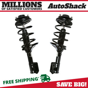 2pc Front Complete Strut Spring Assembly Pair Set For 2001 2006 Hyundai Santa Fe