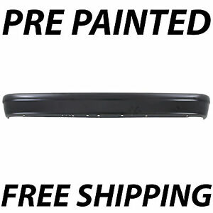 New Painted To Match Steel Rear Bumper For 1994 2014 Ford Econoline Van