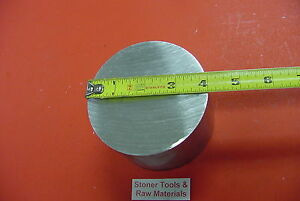 4 Aluminum Round 6061 Rod 4 5 Long T6511 Solid Lathe Bar Stock 4 0 Diameter