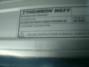 Danaher Thomson Neff Linear Motion System Wh50 Wh05z120 00450 00890 mn0000 62
