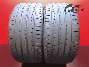 2 High Tread Yokohama Tires 295 35 21 Advansport V105 107y Oem Porsche 40317