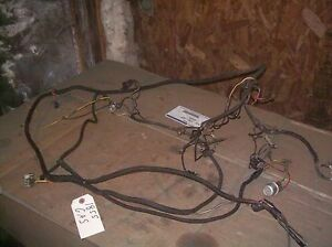 Oliver 1755 1855 Farm Tractor Complete Gas Wiring Harness