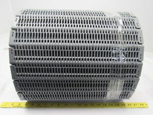 Intralox Series 400 Grey Flush Grid Plastic Conveyor Belt 2 Pitch 15 11 16 x18