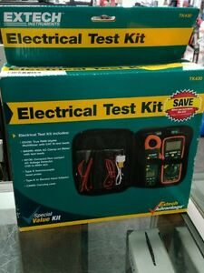 Extech Tk430 6 Piece Electric Test Kit New Free Shipping