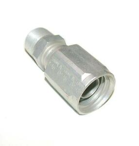 New Skive Ph 30 1inch X 2w R2 Aluminum Reusable Hydraulic Hose Fitting