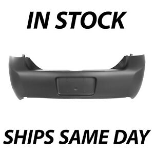 New Primered Rear Bumper Cover For 2009 2010 2011 Ford Focus Sedan Ses 09 11