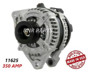 350 Amp 11625 Alternator Ford Mustang 5 0 High Output Performance Hd Large Body
