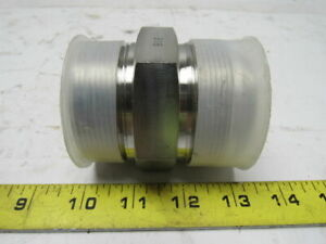 Fittings Unlimited Y ss 2404 32 32 Stainless Steel Adapter 32mj 32mp Straight