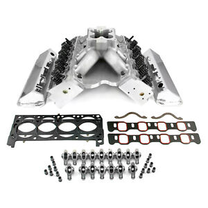 Fits Ford 351w 9 5 Deck Fusion Manifold Hyd Ft Cylinder Head Top End Engine