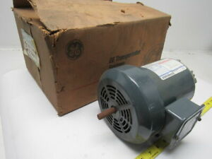 Ge General Electric 5k35jn196 1 2hp Electric Motor 230 460v 3ph 3450 Rpm 48z Fr