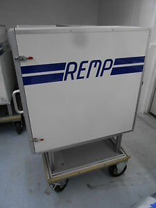 Remp 142 Insulated Storage Cabinet On Wheeled Cart