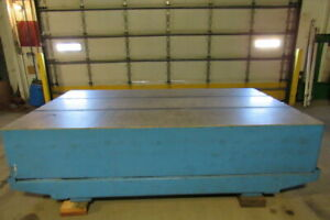 Herman Stone 10 x6 x 20 Granite Surface Plate Table W cradle 0010776 Accuracy