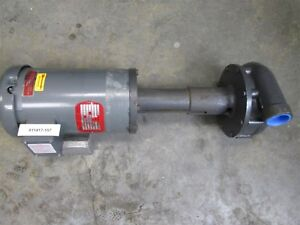 Gusher Pump 1 5hp 11019a se 1725rpm Submersible New